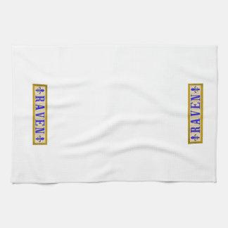 Raven Fleur de Lis Kitchen Towels