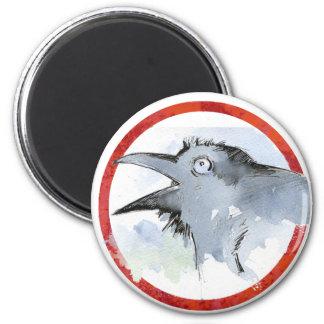 Raven Fridge Magnet