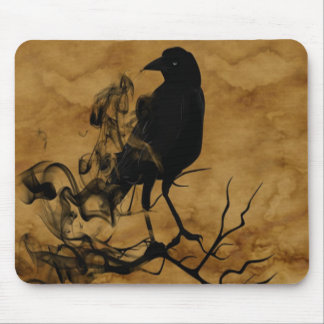 Raven Ghost Mouse Pad
