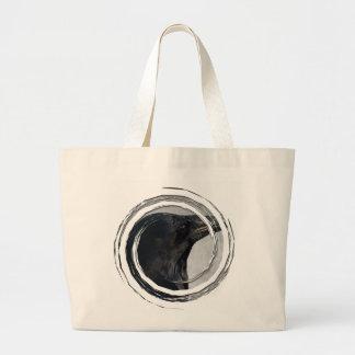 Raven Glamour Shot Tote Bag