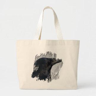 Raven Glamour Shot Canvas Bags