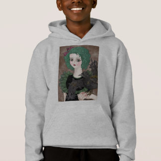 Raven Grey Hooded Sweatshirt