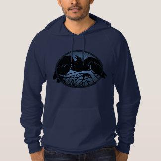 Raven Hoodie Unisex Raven / Crow Art Shirts