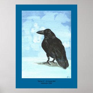 """""""Raven II """" Poster"""