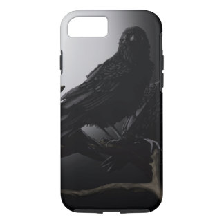 Raven in a Tree Iphone Case