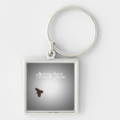 Raven in Flight; Promotional Key Chains