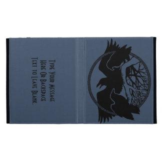 Raven iPad Case Custom Raven Crow Art iPad Cases