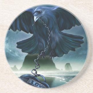 Raven Love Coaster