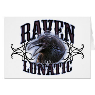 Raven Lunatic Card