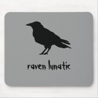 Raven Lunatic Mousepad