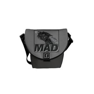 Raven Mad Messenger Bag