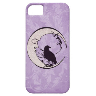 Raven Moon iPhone Case
