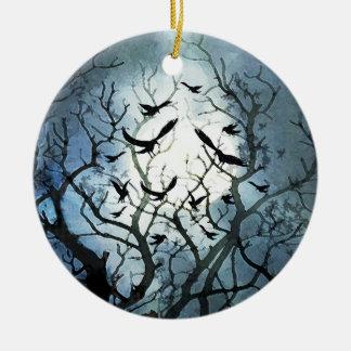 Raven Moon Ornament
