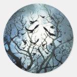 Raven Moon Stickers
