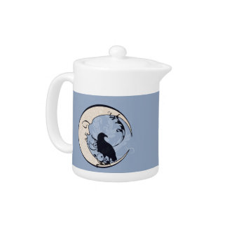 Raven Moon Teapot