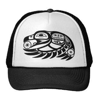 Raven Native American Design Cap
