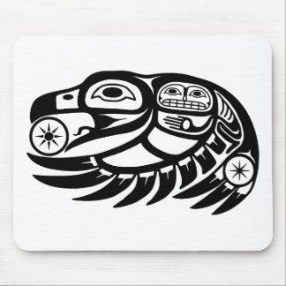 Raven Native American Design Mouse Mat