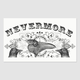 Raven Never More Stickers