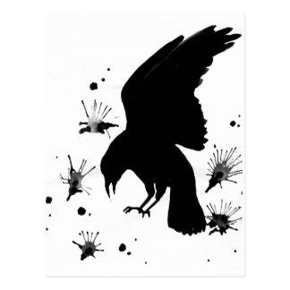 Raven Nevermore Postcard