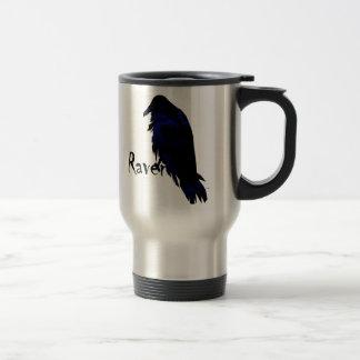 Raven on Raven Travel Mug