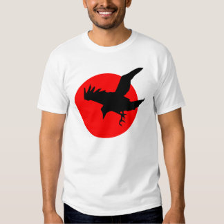 Raven on Red T-shirts