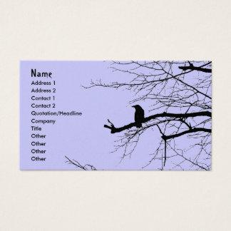 Raven on the Tree