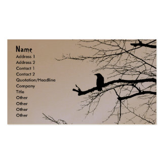 Raven on the Tree Pack Of Standard Business Cards