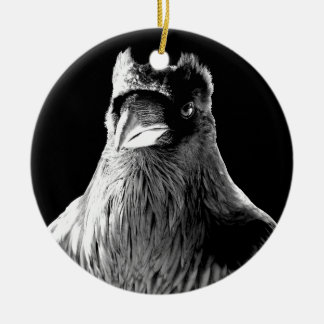Raven Ornament Personalized Raven Decoration Gift