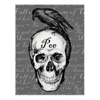 Raven Poe Postcard