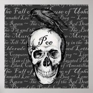 Raven Poe Print