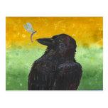 Raven Ponders Postcards