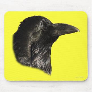 Raven Portrait Mousepads