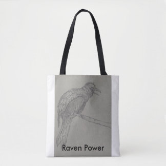 Raven Power Tote