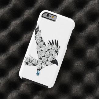 Raven & Roses Tattoo Illustration iPhone 6 Tough iPhone 6 Case