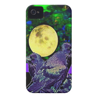 Raven s Moon Magic Gifts By Sharles Case-Mate iPhone 4 Case