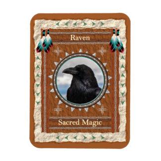 Raven  -Sacred Magic- Vinyl Flexi Magnet