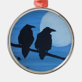 Raven Sentry Christmas Ornament