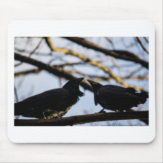 Raven Soul Mates a gift collection Mouse Pad