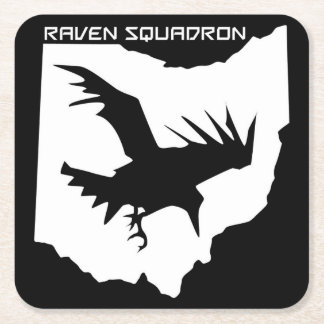 Raven Squadron Drink Coasters