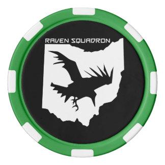 Raven Squadron Poker Chips