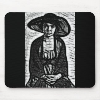 Raven Stare Mouse Pad