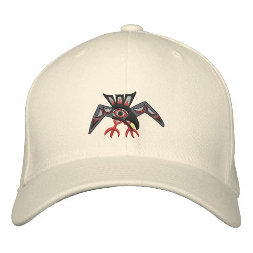 Raven steals the sun embroidered baseball caps