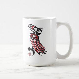 Raven steals the sun mugs