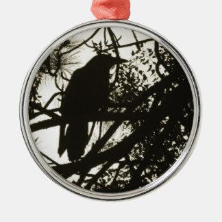Raven Steampunk Christmas Ornament