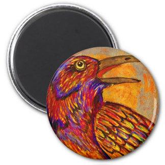 Raven Sunset Magnet