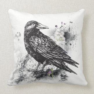 """Raven Throw Pillow 20"""" x 20"""""""