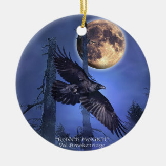 Raven Tree Ornament