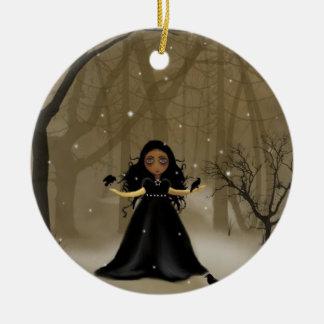 Raven Wood Christmas Christmas Ornament