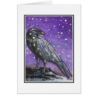 Raven Yule Card