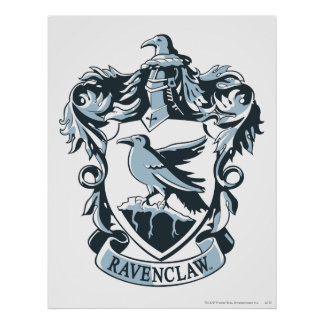 Ravenclaw Crest 3 Posters
